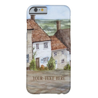 Funda Barely There Para iPhone 6 Colina del oro, Shaftesbury, pintura de la