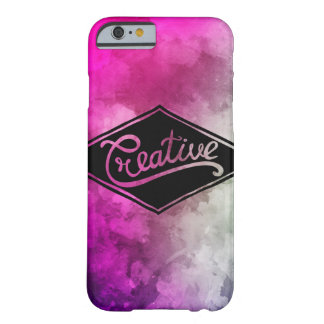 Funda Barely There Para iPhone 6 Colorful creative case pink violet