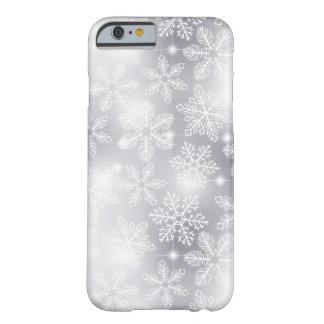 Funda Barely There Para iPhone 6 Copos de nieve y luces