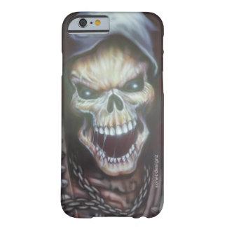 Funda Barely There Para iPhone 6 Cráneo enojado 1