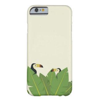 Funda Barely There Para iPhone 6 Cubierta tropical toucan del teléfono celular del