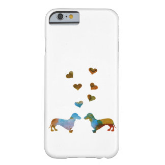 Funda Barely There Para iPhone 6 Dachshunds