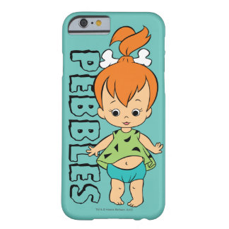 Funda Barely There Para iPhone 6 El Flintstone de los guijarros de los Flintstones