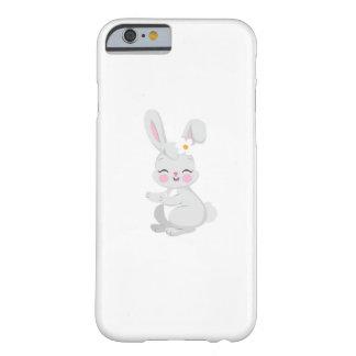 Funda Barely There Para iPhone 6 El regalo lindo de Pascua de la cara del conejito