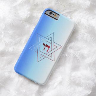 Funda Barely There Para iPhone 6 Estrella elegante estupenda de David y de Chai