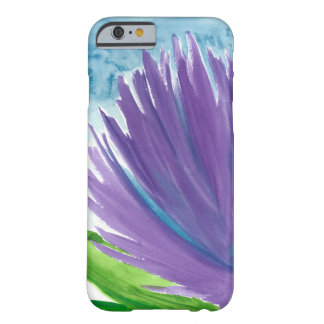 Funda Barely There Para iPhone 6 Flor púrpura 1