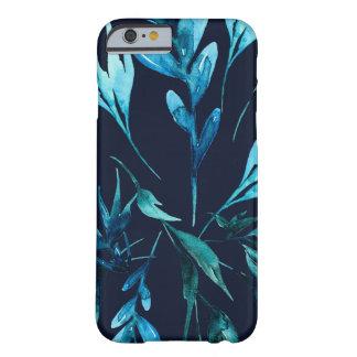 Funda Barely There Para iPhone 6 Floral elegante elegante botánico de la acuarela