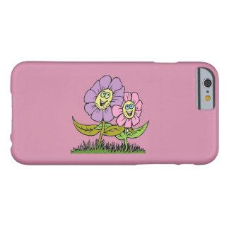 Funda Barely There Para iPhone 6 Flores sonrientes