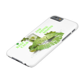Funda Barely There Para iPhone 6 Guarde Mojito tranquilo