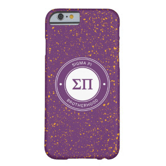 Funda Barely There Para iPhone 6 Insignia de la sigma pi el |