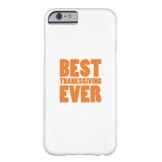 Funda Barely There Para iPhone 6 La mejor camisa del regalo de la acción de gracias