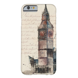 Funda Barely There Para iPhone 6 Letras de Big Ben
