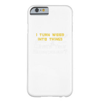 Funda Barely There Para iPhone 6 Madera en cosas cuál es su carpintero de la