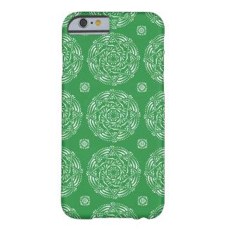 Funda Barely There Para iPhone 6 Mandala de la alga marina