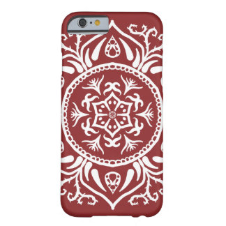 Funda Barely There Para iPhone 6 Mandala del arándano