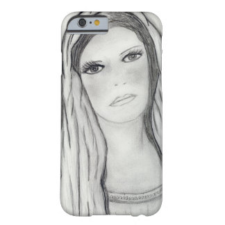 Funda Barely There Para iPhone 6 Maria triste