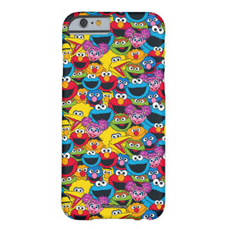 Funda Barely There Para iPhone 6 Modelo del equipo del Sesame Street