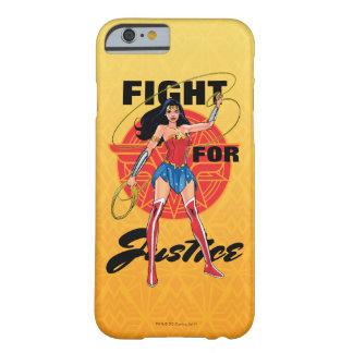 Funda Barely There Para iPhone 6 Mujer Maravilla con el lazo - lucha para la