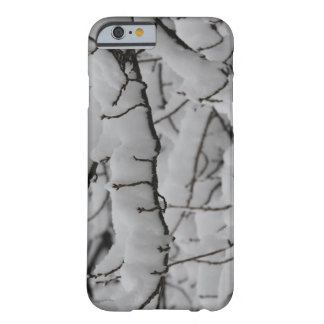 Funda Barely There Para iPhone 6 nieve del caso del iPhone