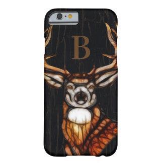 Funda Barely There Para iPhone 6 País rústico de los ciervos de madera de madera