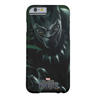 Funda Barely There Para iPhone 6 Pantera negra el | en la selva