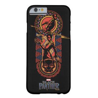 Funda Barely There Para iPhone 6 Pantera negra el | Okoye y el panel de Nakia