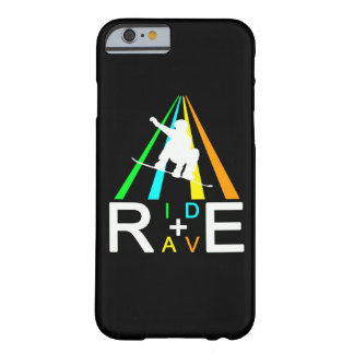 FUNDA BARELY THERE PARA iPhone 6 PASEO+SNOWBOARDER DEL DELIRIO