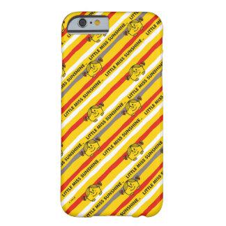 Funda Barely There Para iPhone 6 Pequeña Srta. Sunshine el | rojo, modelo amarillo