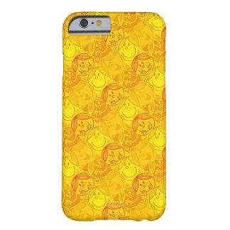 Funda Barely There Para iPhone 6 Pequeño modelo amarillo soleado de Srta. Sunshine