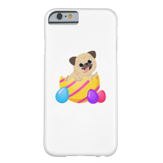Funda Barely There Para iPhone 6 Perro divertido del amor del regalo de Pascua del