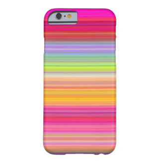 Funda Barely There Para iPhone 6 Personalice - el fondo multicolor de la pendiente