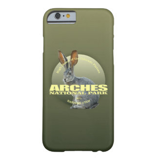 Funda Barely There Para iPhone 6 PESO de NP de los arcos (Jackrabbit)