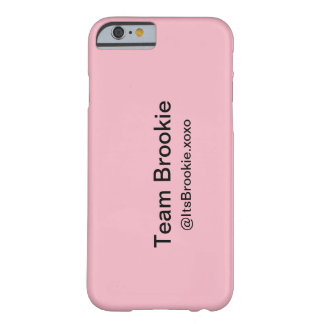 Funda Barely There Para iPhone 6 Phonecase de Brookie