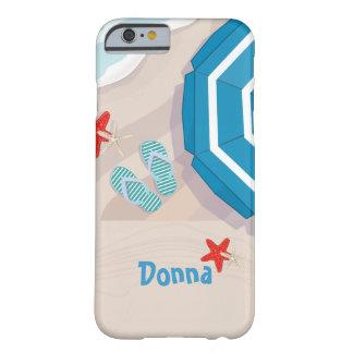 Funda Barely There Para iPhone 6 Playa tropical