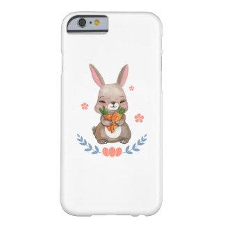 Funda Barely There Para iPhone 6 Regalo para mujer de los niños del conejito de los
