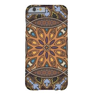 Funda Barely There Para iPhone 6 Remiendo del vintage con los elementos florales de