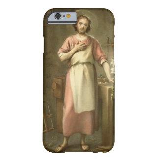 Funda Barely There Para iPhone 6 San José con el banco de trabajo de las