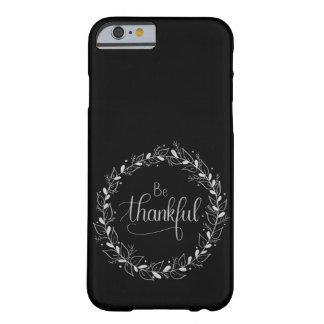 "Funda Barely There Para iPhone 6 ""Sea"" caso agradecido del iPhone de Handlettered"