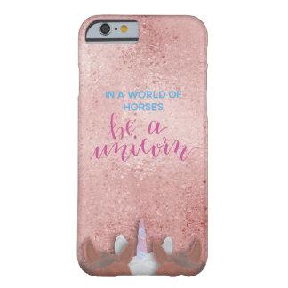 Funda Barely There Para iPhone 6 Sea un unicornio