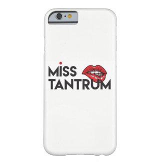 Funda Barely There Para iPhone 6 Srta. Tantrum Phone Case - iPhone 6/6s
