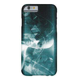 Funda Barely There Para iPhone 6 Tecnología futurista de la ciencia médica como