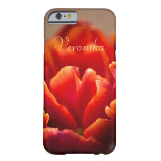 Funda Barely There Para iPhone 6 Tulipán rojo