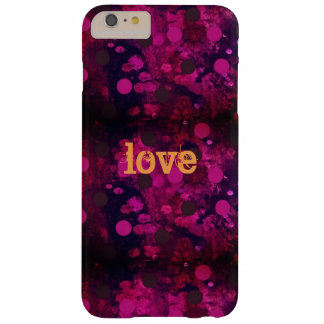 Funda Barely There Para Phone 6 Plus Amor