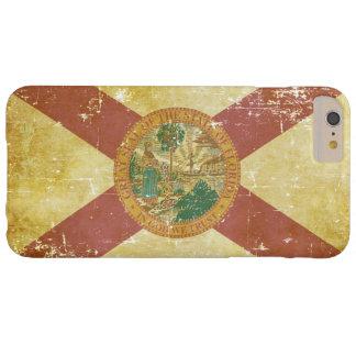 Funda Barely There Para Phone 6 Plus Bandera patriótica de papel gastada del estado de
