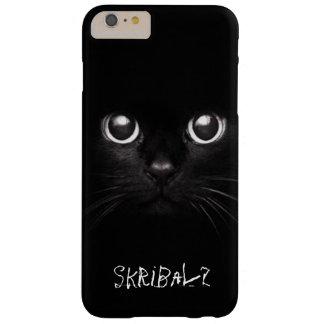 Funda Barely There Para Phone 6 Plus Caja del teléfono del gato negro