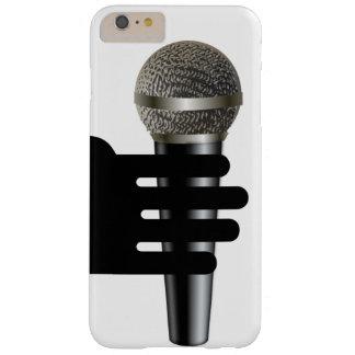 Funda Barely There Para Phone 6 Plus caja del teléfono del micrófono