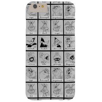 Funda Barely There Para Phone 6 Plus Carta LOONEY de la emoción del carácter de TUNES™