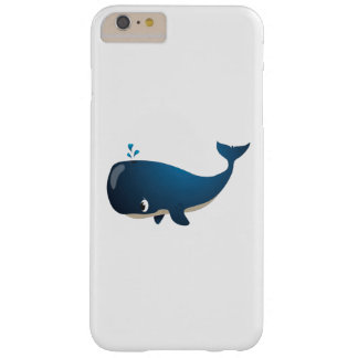 "Funda Barely There Para Phone 6 Plus Caso de Iphone de la ballena del ""pequeño del bebé"