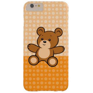 Funda Barely There Para Phone 6 Plus Caso más del iPhone 6 del oso de peluche del