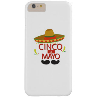 Funda Barely There Para Phone 6 Plus Celebración mexicana linda del día de fiesta de